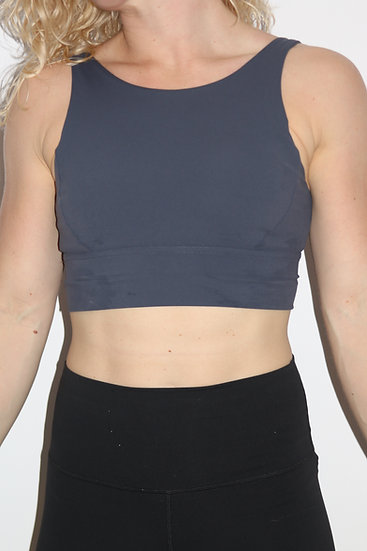 Sports Bra Dark Grey Small