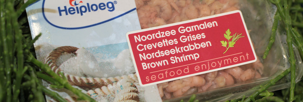 Peeled Brown Shrimps - Frozen