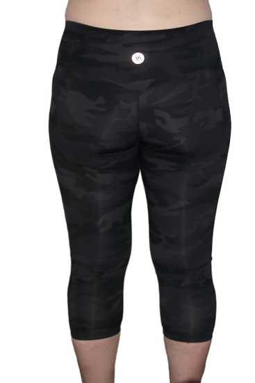 Capri High Rise Leggings Camo