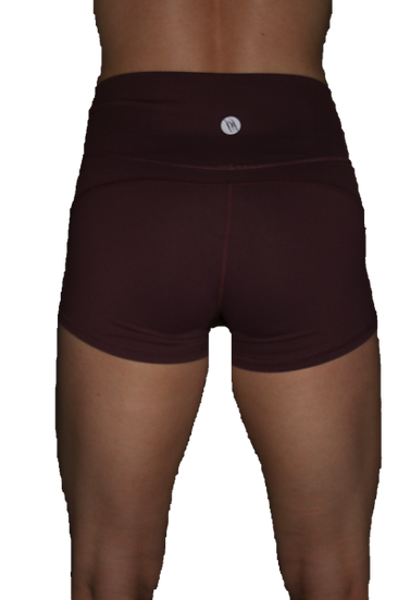 Root Booty Shorts Wild Berry