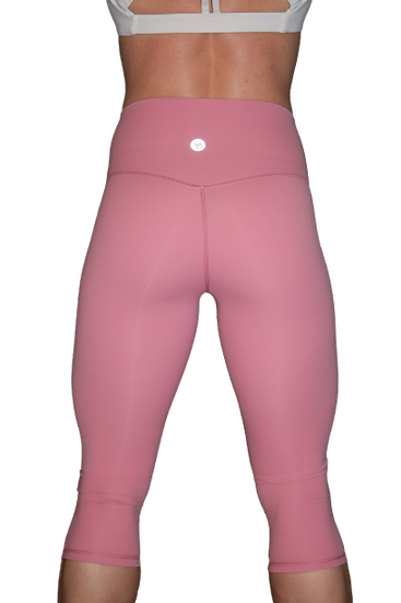 Retamed Capri Leggings Pink Small