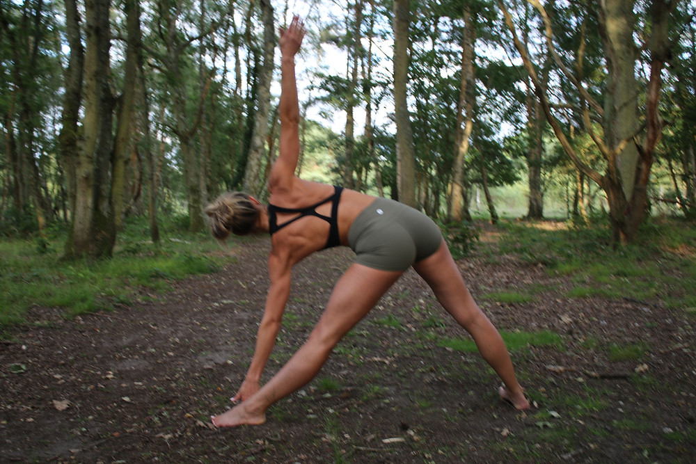 """""""I love that really teaches you to get in tune with your body - in practice your focus is purely on you, the print moment and how your body feel or responds to the movements."""