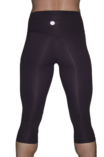 Capri High Rise Leggings Purple