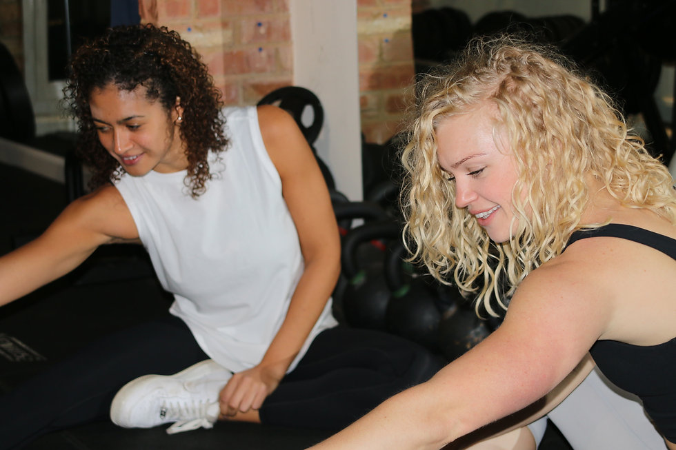Untamed Girls doing Yoga