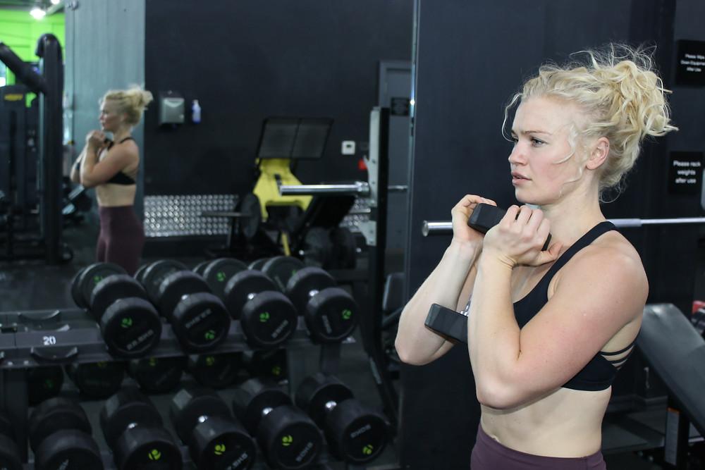 Sports Bra in Gym