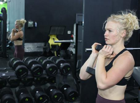Choosing the right sports bra.
