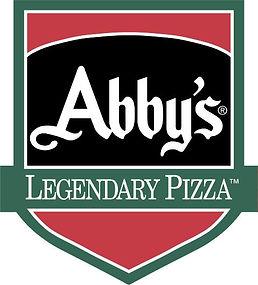 Abby's Legendary Pizza Logo