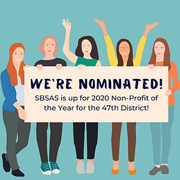 SBSAS is nominated for 2020 Non-Profit o
