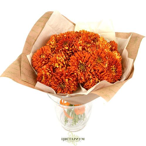 букет 17 хризантем