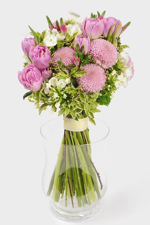 тюльпан 11 хризантема 5 вероника 8 флокс 6 питтоспорум