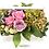 Thumbnail: Композиция в белом деревянном ящике роза Heaven 3  роза  Memory 2 гортензия 1 ку