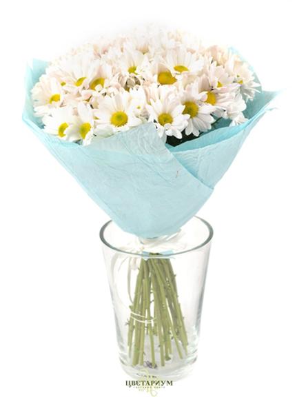 букет кустовая хризантема 9