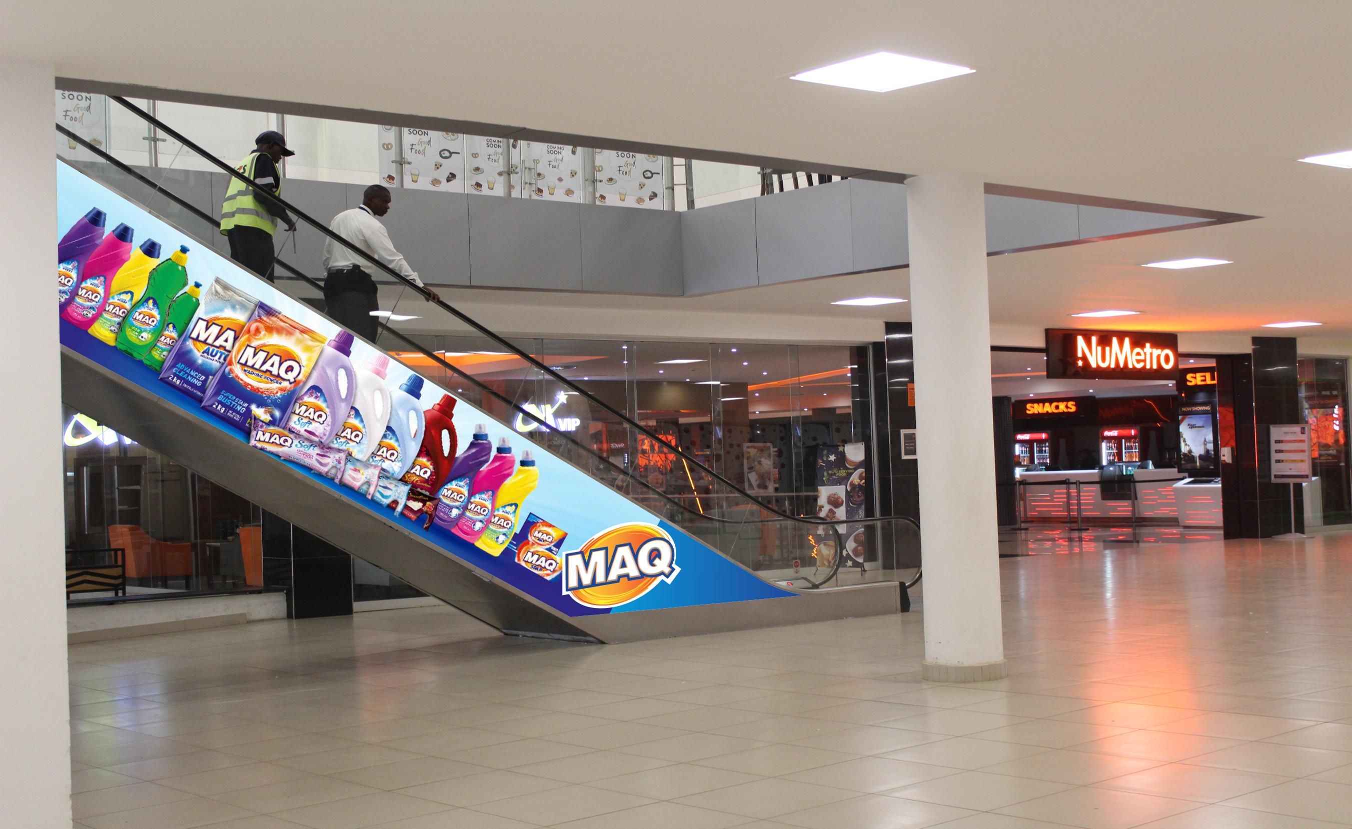 Arcades Escalators