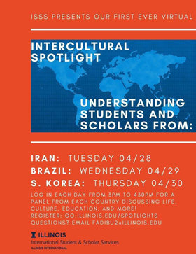 Intercultural Spotlight Series by ISSS