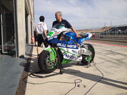 Warming up in Aragon