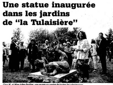 """Dans les jardins de la """"Tulaisière"""""""
