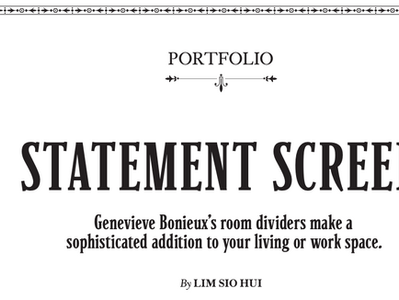 """""""Robb Report Home & Style"""" - June 2014 - Édition de Singapour"""