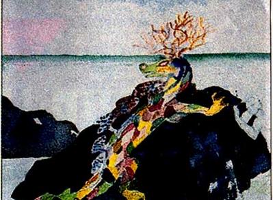 Bestiaire fabuleux dans le lagon