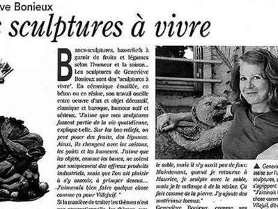 Des sculptures à vivre