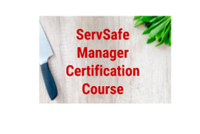 ServSafe Manager Certification Course/Exam (NO TEXTBOOK)