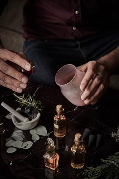 Pot pourri fragrant workshop for Four Se