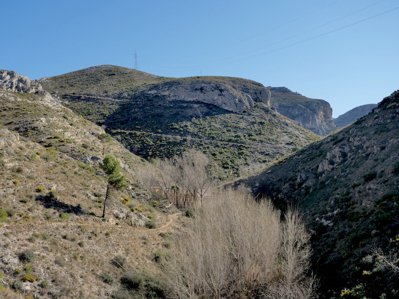 Trails of Baranc Tarongers between Ontinyent and Bocairent