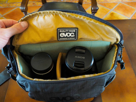 Cycling camera bags for the Sony A7RIII, Sony A7 and A9 cameras