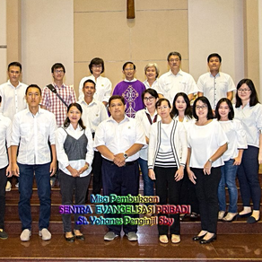 Misa Pembukaan Tahun Ajaran 2018 SEP St. Yohanes Penginjil Surabaya