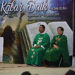 Retret Bersama SEP St. Yohanes Penginjil BPK PKK Keuskupan Surabaya dengan KEP Paroki (Gelombang 1)