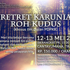 Retreat Karunia Roh Kudus