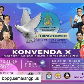 Konvensi Daerah (KONVENDA) X BPPG Regio Semarang Plus tahun 2020