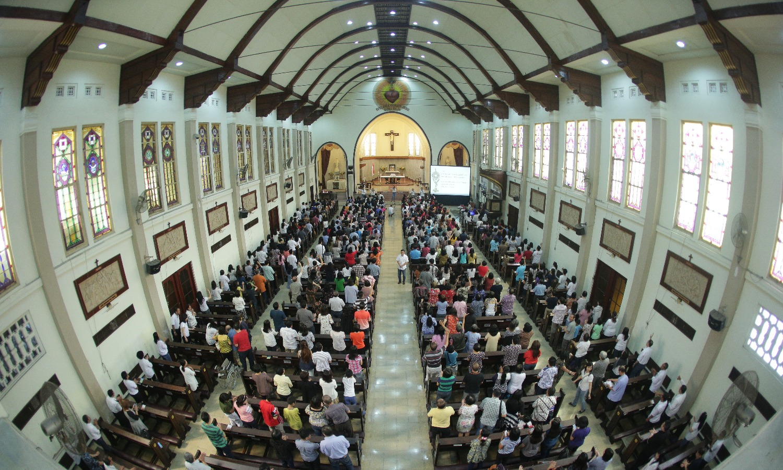 Memeringati 50 Tahun Pembaruan Karismatik Katolik.