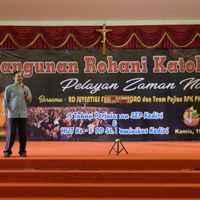 KRK - Pelayan Zaman Now (15 tahun SEP dan HUT Ke-3 PDPKK Dominikus Kediri)