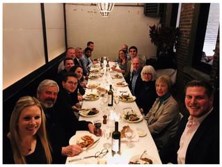 Employee Appreciation Dinners Held in New York & Washington Regions