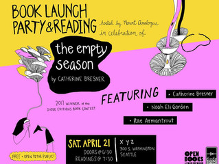 Seattle Book Launch