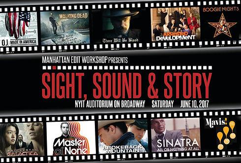 sight sound & story