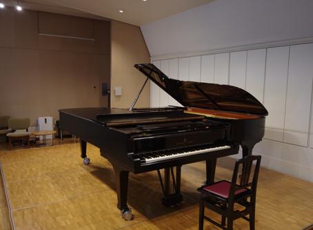 ピアノ2台のリサイタル。