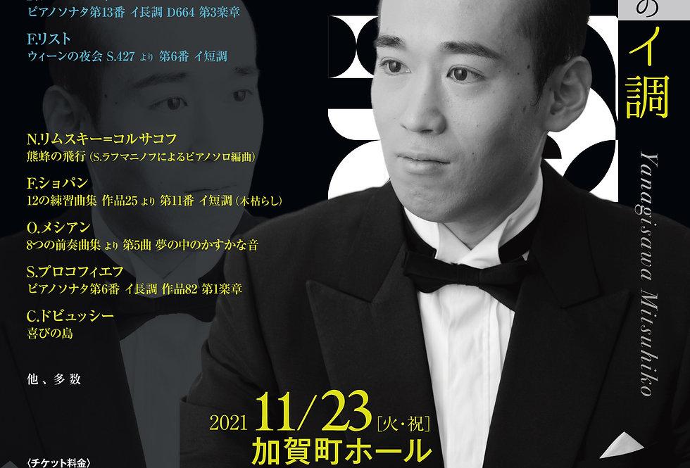 「栁澤光彦 ピアノ&トークコンサート Vol.6 」ストリーミングチケット