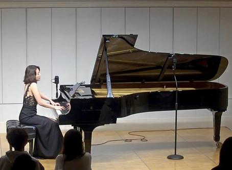 ベートーヴェン「ピアノソナタ第14番 月光」~小ノ澤幸穂ピアノリサイタルより~
