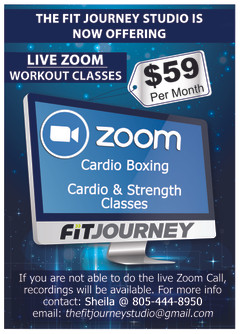 Live Zoom Workout Classes