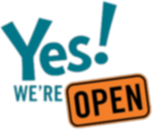 Yes, we're open.png