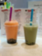 Bubble tea with Boba