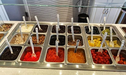 Our Toppings Bar
