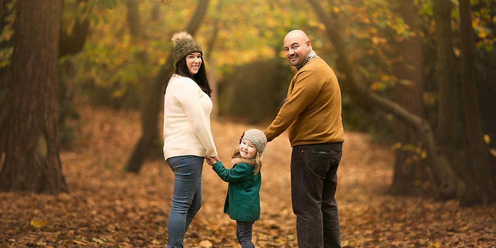 Fall Family Mini Shoots - Saturday, Nov 16