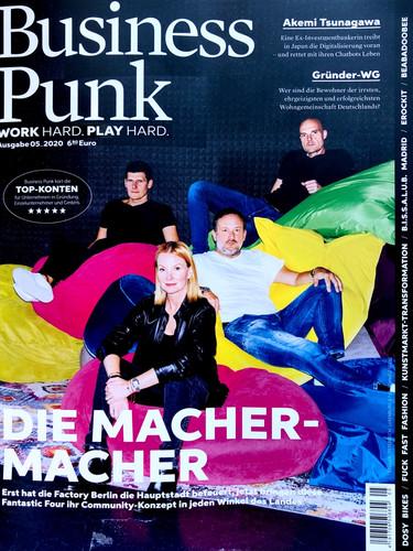 Business Punk Feature. Oktober 2020.