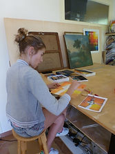 apprentissage du pastel cours pastel atelier hyères var