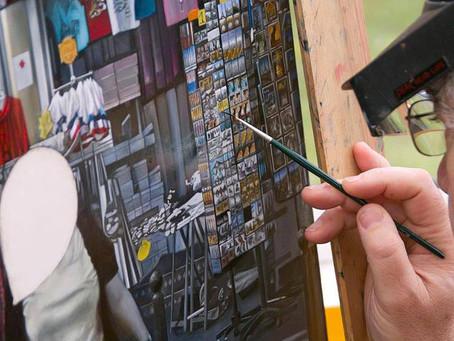 Peintre du XXI ème siècle Gilles Paul ESNAULT