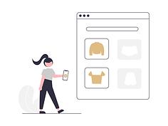 Lucid E-Commerce Illustration