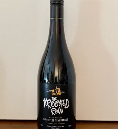 The Krooked Row Sangiovese Tempranillo by St. Fiacres