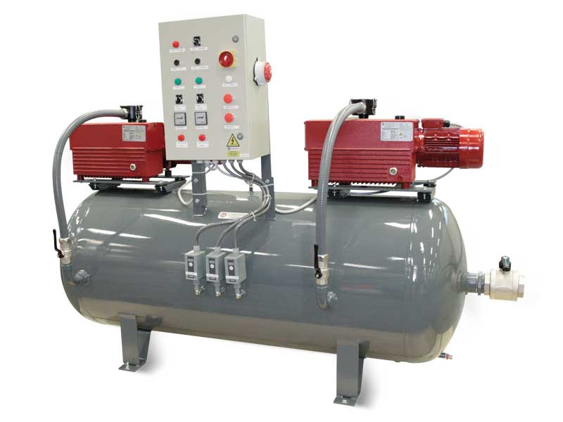 Vacuum Pump Set- Duty/Standby
